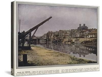 Quais De Verdun-Jules Gervais-Courtellemont-Stretched Canvas Print