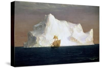 Iceberg, 1891-Frederick Edwin Church-Stretched Canvas Print