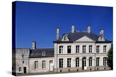 Facade, Chateau De Duisans--Stretched Canvas Print