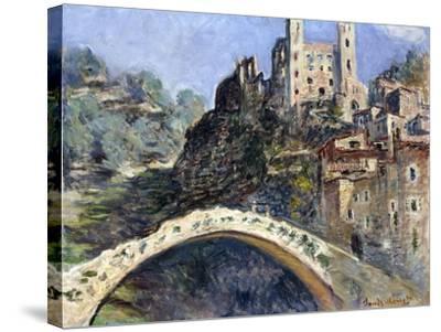 Dolceacqua, 1884-Claude Monet-Stretched Canvas Print