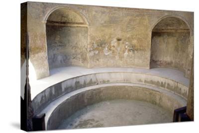 Forum Baths, Pompeii--Stretched Canvas Print