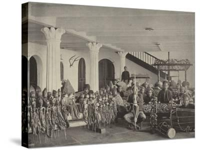 The Javanese Orchestra--Stretched Canvas Print