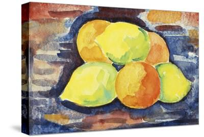 Fruit Still Life-Marsden Hartley-Stretched Canvas Print