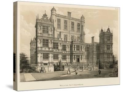 Wollaton, Nottinghamshire-Joseph Nash-Stretched Canvas Print