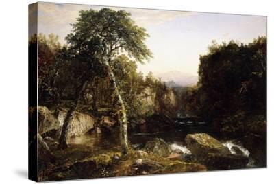 Franconia Mountains, 1854-John Frederick Kensett-Stretched Canvas Print