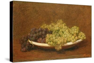 Still Life of Grapes, C.1894-Henri Fantin-Latour-Stretched Canvas Print