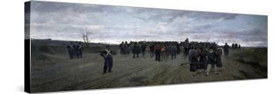 Return from Mentana-Onorato Carlandi-Stretched Canvas Print