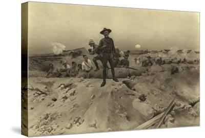 Siege of Mafeking, 1900-Henri-Louis Dupray-Stretched Canvas Print