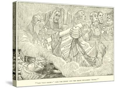The Hunting of the Snark-Henry Holiday-Stretched Canvas Print