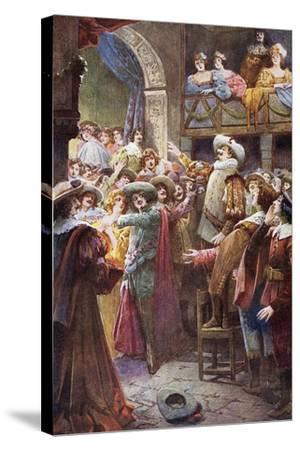 Nose Monologue, from Cyrano De Bergerac-Edmond Rostand-Stretched Canvas Print
