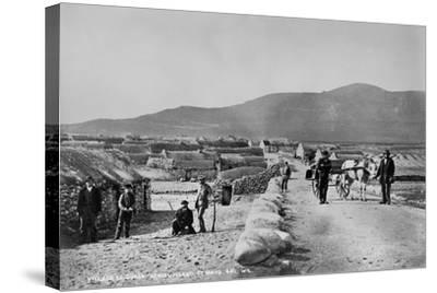 Village of Duagh, Achill Island, County Mayo, Ireland, C.1890-Robert French-Stretched Canvas Print