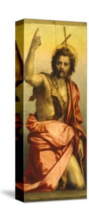 Painting of St John the Baptist-Andrea del Sarto-Stretched Canvas Print