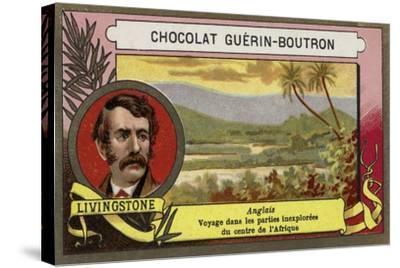 David Livingstone, Scottish Missionary and Explorer--Stretched Canvas Print