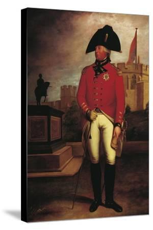 Portrait of Prince George William of Great Britain--Stretched Canvas Print