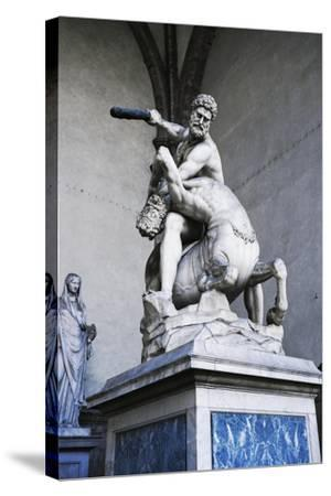Hercules and Centaur Nessus, Marble Statue--Stretched Canvas Print