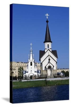 Bell Tower and Church of Religious Complex of St George--Stretched Canvas Print