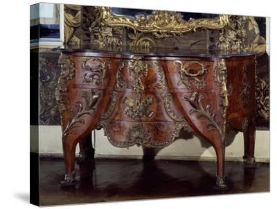 Commode with Bronze Applications-Christian Jacob Preisler-Stretched Canvas Print