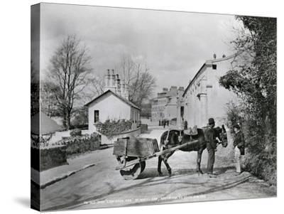 Street Scene in Rostrevor, County Down, Ireland, C.1895-Robert John Welch-Stretched Canvas Print