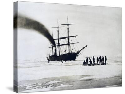 Expedition to North Pole by Count Johann Nepomuk Wilczek--Stretched Canvas Print