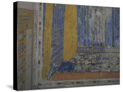 Egypt, Thebes, Luxor, Valley of the Kings, Tomb of Ramses IV--Stretched Canvas Print