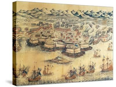 Menorca Occupied by the British During the Seven Years' War--Stretched Canvas Print
