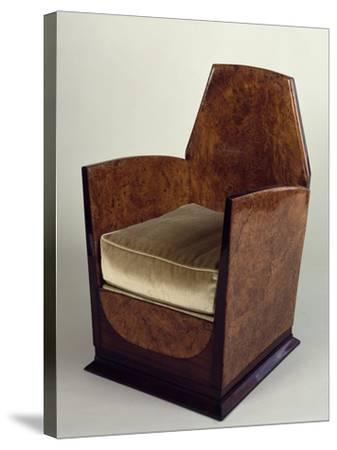 Art Deco Style Armchair, 1930--Stretched Canvas Print