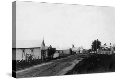 Waipu Congregational Church and Presbyterian Church--Stretched Canvas Print