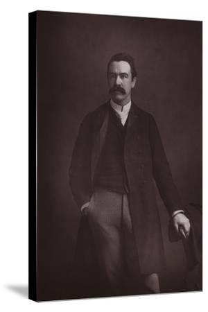 William Martin Conway, English Art Critic, Politician and Mountaineer--Stretched Canvas Print