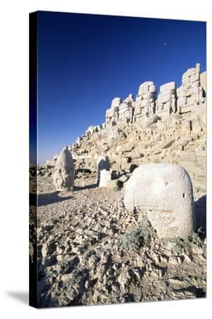 Tomb of King Antioch I of Commagene, East Terrace, Nemrut Dagi--Stretched Canvas Print