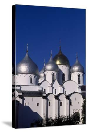 Cupolas of St Sophia Cathedral, 1045-1050--Stretched Canvas Print
