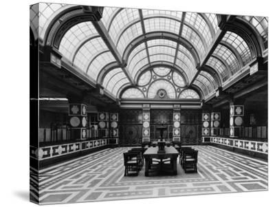 Entrance Hall of the Czechoslovak Legions Bank, Prague, C.1926--Stretched Canvas Print