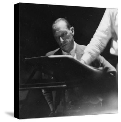 Portrait of the Russian Composer Igor Stravinsky, C.1930--Stretched Canvas Print
