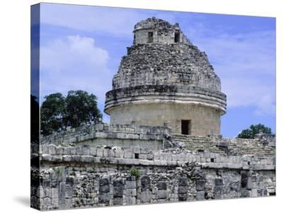 The Astronomical Observatory known as Caracol, Chichen Itza--Stretched Canvas Print