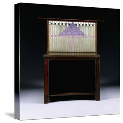 A Writing Cabinet Designed for Walter W. Blackie Esq., Hill House, Edinburgh, 1904-Charles Rennie Mackintosh-Stretched Canvas Print