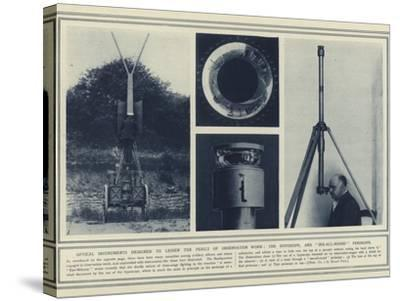 Optical Instruments Designed to Lessen the Perils of Observation Work--Stretched Canvas Print