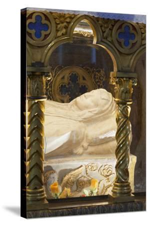 Sarcophagus of Saint Catherine of Siena--Stretched Canvas Print
