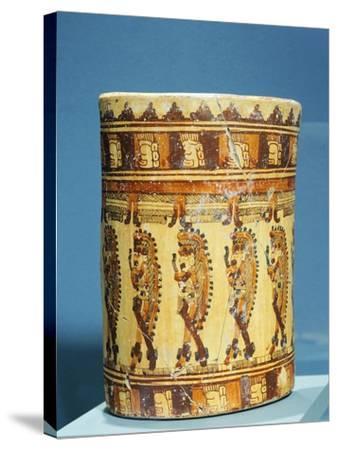 Ulua Polychrome Terracotta Vase Shaped--Stretched Canvas Print