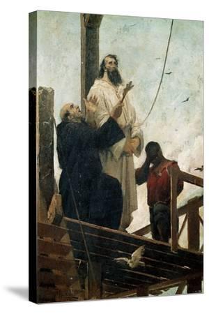 Martyrdom of Tiradentes--Stretched Canvas Print
