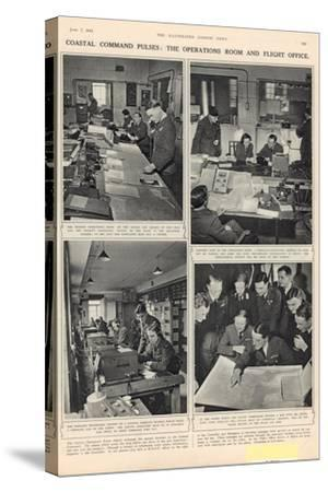 The Vigil of the Coastal Command, from 'The Illustrated London News', 7th June 1941--Stretched Canvas Print