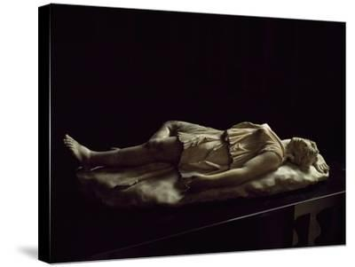 Statue of Dead Amazon, Roman Copy from Original Made by School of Pergamon--Stretched Canvas Print