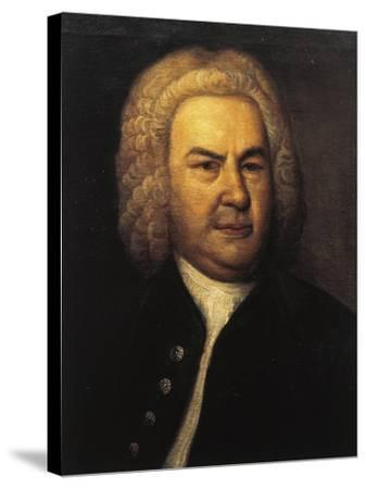 Germany, Leipzig, Portrait of German Composer and Organist, Johann Sebastian Bach--Stretched Canvas Print