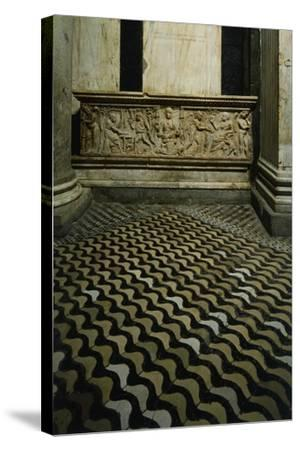 Late-Roman Sarcophagus--Stretched Canvas Print