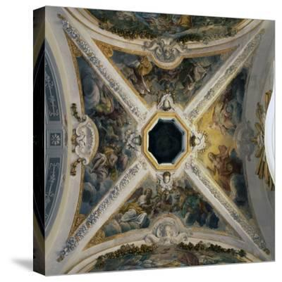 Eighteenth Century Frescoes by Giacomo Serpotta--Stretched Canvas Print