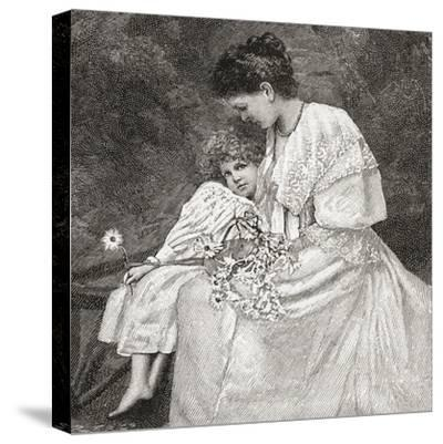 Mary Drew--Stretched Canvas Print