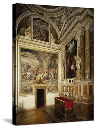 Italy-Guglielmo Caccia-Stretched Canvas Print