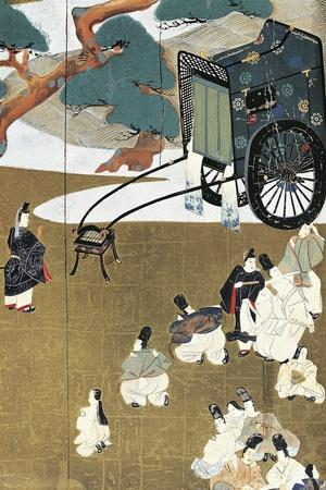 Genji Monogatari--Stretched Canvas Print