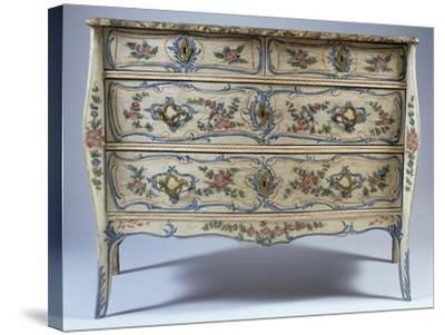 Louis XV-XVI Transition Period Commode--Stretched Canvas Print
