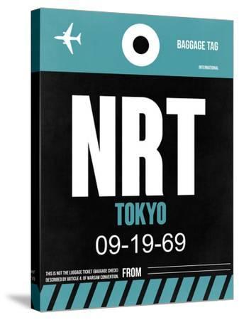 NRT Tokyo Luggage Tag 2-NaxArt-Stretched Canvas Print