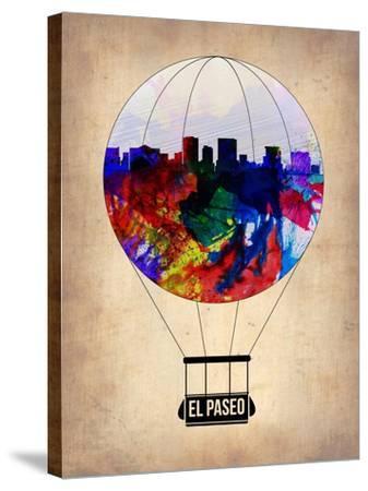El Paseo Air Balloon-NaxArt-Stretched Canvas Print