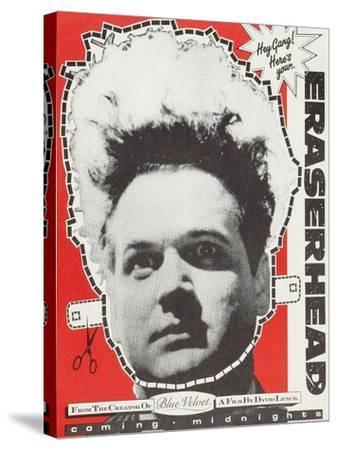 Eraserhead--Stretched Canvas Print